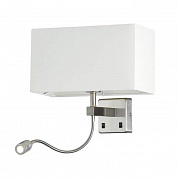 Бра Crystal Lux Jewel AP2 White